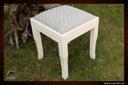 Taboret dębowy , meble z litego drewna dębowe Szerokość siedziska 35 cm