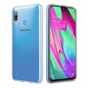 Etui Slim CASE CLEAR + Szkło do Samsung Galaxy A40 Dedykowany model Samsung Galaxy A40