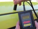 Miernik, tester grubości lakieru GL-1s Zakres pomiarowy 0-1100 μm