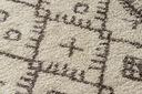 Dywan BOHO shaggy 80x150 frędzle krem #GR2822 Materiał wykonania polipropylen