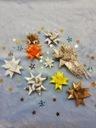 PASKI DO ROBIENIA GWIAZDEK SREBRO ŚREDNIE Okazje Boże Narodzenie