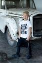 Bluza MORO czarne spodnie koszulka 3w1 116 122 Rodzaj zapinany