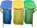 3 x Корзина мусор Стенд мешки для СЕГРЕГАЦИИ