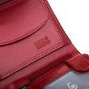 Skórzany portfel damski Garbarnia Praska mały RFID Płeć Produkt damski