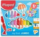 Pisaki Jumbo Maped Colorpeps 12 kol dla maluchów Marka Maped