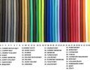 КАБЕЛЬ В ОПЛЕТКЕ цветные КАБЕЛИ 2x0,75 3x0,75 ??