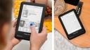 Czytnik e-book Library 3S CARTA+ 8GB KrugerMatz Funkcje ekran dotykowy obsługa kart pamięci podświetlenie ekranu wyświetlacz E-Ink inne