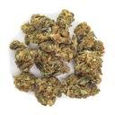 Susz Konopny 2g Orange Skunk 4,32% CBD kwiaty Cechy dodatkowe bez barwników bez GMO bez konserwantów czysty (bez dodatków) chronić przed światłem produkt rolnictwa ekologicznego wegański