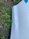 Tesla X drzwi tylne lewe kompletne 1069537-E0-A Strona zabudowy Lewe tylne