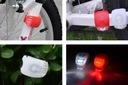 DIODOWA LAMPKA ROWEROWA LED PRZÓD TYŁ 2 SZTUKI MOC Kolor dominujący biały