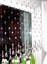 БОЛЬШИЕ ШАРИКИ Шторный 17 штук кристаллики 100 см
