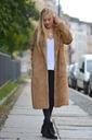 Długie futro futerko płaszcz kurtka miś Kolor brązowy, beżowy czarny