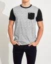 koszulka t-shirt HOLLISTER Abercrombie Logo USA L Płeć Produkt męski