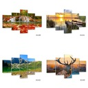 # LAWENDA_ Изображения на холсте картина 100x70 Салон