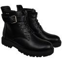 Botki CROSS Jeans damskie czarne buty EE2R4086 37 Kolor czarny
