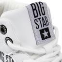 Big Star trampki EKOSKÓRA białe wysokie EE274356 Kolor biały