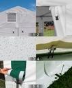 6x12m 2-3,09m Namiot ogrodowy handlowy całoroczny Liczba ścianek bocznych więcej niż 8