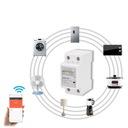 Jednofazowy Din Wifi Inteligentny licznik energii Kod produktu nie
