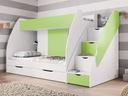 Łóżko piętrowe Dziecięce Młodzieżowe MARCINEK Kod producenta M-MARCINEK-000429