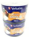 Płyty Verbatim DVD-R PHOTO PRINTABLE szt 100 nonID Rodzaj nośnika DVD-R