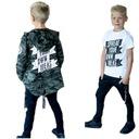 Bluza MORO czarne spodnie koszulka 3w1 116 122