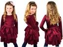 JustCute Elegancka sukienka FALBANY kolory 128/134
