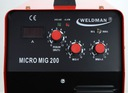 Spawarka MIGOMAT MIG 200 MMA 200A 230V zestaw FLUX Metody spawania MIG/MAG MMA