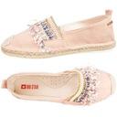 Espadryle damskie Big Star różowe buty DD274762 39