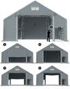 8x8m 3-5,1m Namiot magazynowy hala namiotowa Producent Das Company
