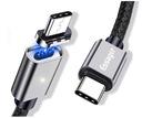 KABEL MAGNETYCZNY USB-C 1.5m QC 4.0 PD 100W 5A