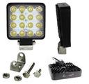 LAMPA LED ROBOCZA 16 LED HALOGEN 48W 10-30V CE R10