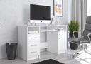 Компьютерный стол столик 124cm белое большие N11