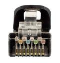 NEKU Kabel Patchcord S/FTP kat.6a PIMF czarny 0,5m Długość kabla 0.5 m