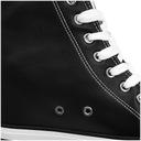 Trampki Big Star czarne na koturnie EE274615 38 Materiał zewnętrzny tworzywo skóropodobne