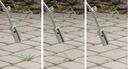 Пистолет горячего воздуха ГОРЕЛКА выжигатель ЛИСТЬЕВ сорняков + 4wkłady