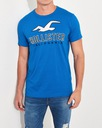t-shirt męski HOLLISTER by Abercrombie logo L Rozmiar L