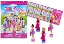 Mini Lalka Barbie - Figurka Saszetka Niespodzianka Marka Mega Bloks