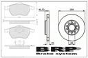 ДИСКИ+Колодки AUDI a4 b5 B6 B7,A6 C5,PASSAT b5 288