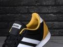 Buty, sneakersy męskie Adidas V Racer 2.0 EG9913 Kolor czarny biały żółty, złoty