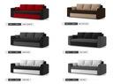 Kanapa PAUL rozkładana sofa z FUNKCJĄ SPANIA Kolor obicia Wielokolorowy