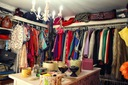 CLULLIN Sukienka ombre szyfon pastelowa XL Okazja koktajlowa