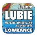 Jezioro Lubie mapa na echosondy Lowrance SImrad BG