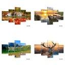 мостик Картины на холсте 125x85 Изображение триптих
