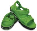 Sandałki Crocband II Sandal zielone 29-30 (C12) Marka Crocs
