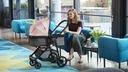 Wózek wielofunkcyjny zestaw 2w1 JULI Kinderkraft Kolor Odcienie szarości i srebra Odcienie niebieskiego