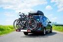 STORM 4 - Bagażnik uchwyt rowerowy na hak 4 rowery Waga (z opakowaniem) 20 kg