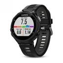 GARMIN FORERUNNER 735XT TRI bundle BLACK - GPS HR Funkcje alarm datownik krokomierz lokalizator GPS monitor snu pomiar tętna powiadomienia o połączeniach/SMS przebyty dystans spalone kalorie stoper wirtualny przeciwnik wyszukiwanie telefonu zegar