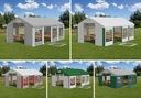 6x12m 2-3,09m Namiot ogrodowy handlowy całoroczny Rodzaj poszycia PVC