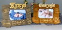 3D-Рамка на подарок  крещение 1 день рождения