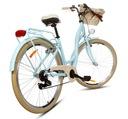 Damski rower miejski 28 ALU lekki SHIMANO 7 kosz Liczba biegów 7